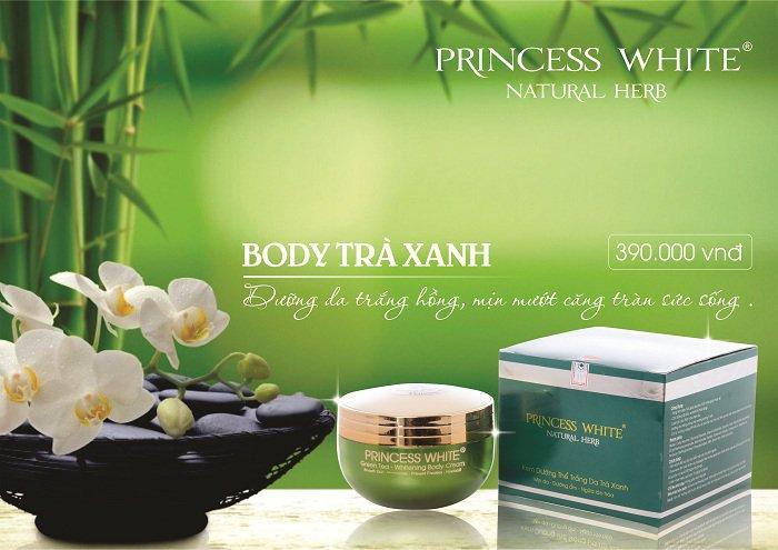 Kem Body Green Tea Princess White